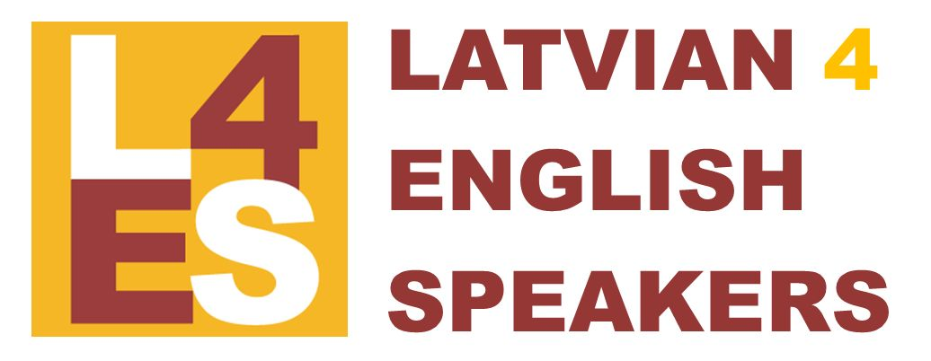 Latvian for English Speakers